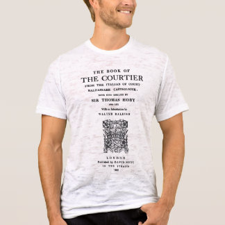 Book of the Courtier Title Page T-Shirt