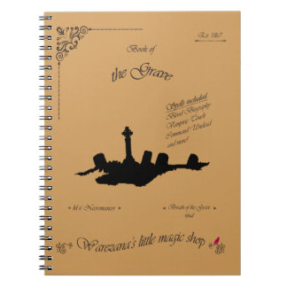 Book of the Grave Spiral Notebooks