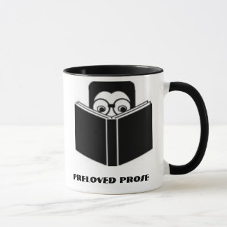 book, Preloved Prose Mug