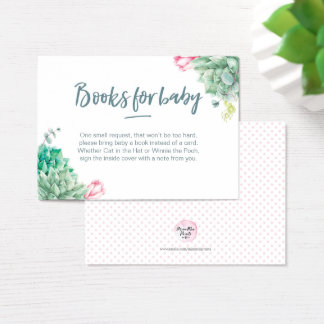 Book Request | Baby Shower Books for baby Card
