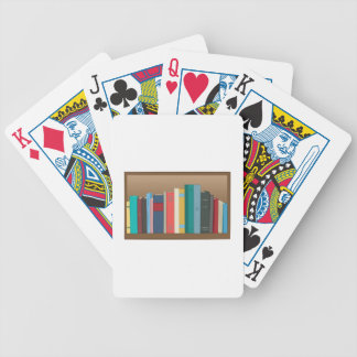 Book Shelf Bicycle Playing Cards