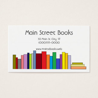 """Book Shelf"" Business Cards"