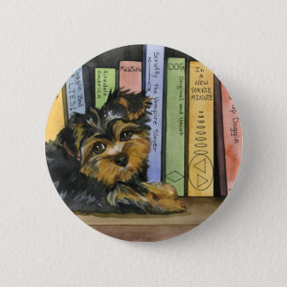 Book Shelf Cutie 2 Inch Round Button