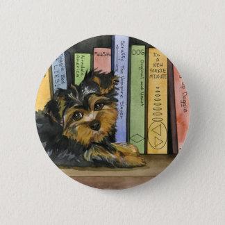 Book Shelf Cutie 2 Inch Round Button