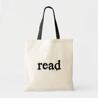 Book Tote Bag - Read (Typewriter Type)
