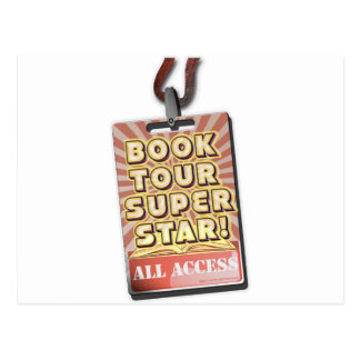 Book Tour Superstar! Postcard