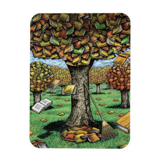 Book Tree magnet