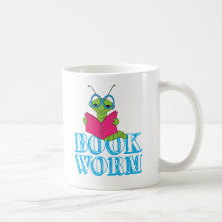 Book Worm Coffee Mug