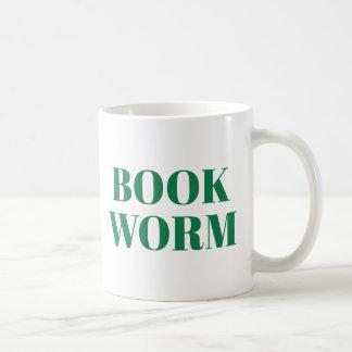 Book Worm mug   Cute Book Lover Slogan Mug