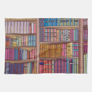 Book Worm Tea Towel