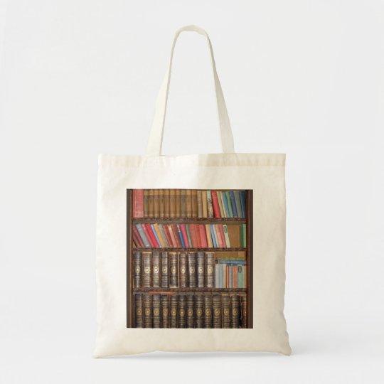 Bookcase Tote Bag