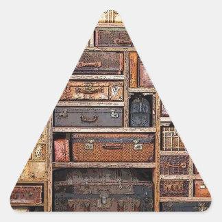 Bookcase Triangle Sticker