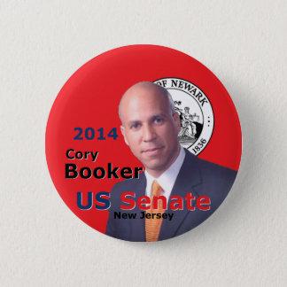 Booker Senate 2014 2 Inch Round Button