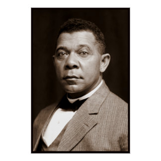 Booker T Washington, African American Civil Rights Posters