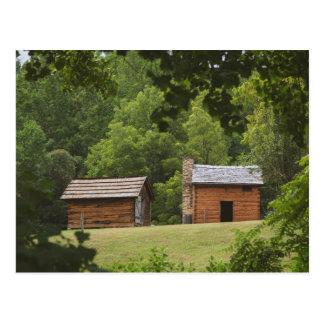 Booker T Washington Plantation Postcard