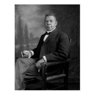 Booker T. Washington Portrait by Harris & Ewing Postcard