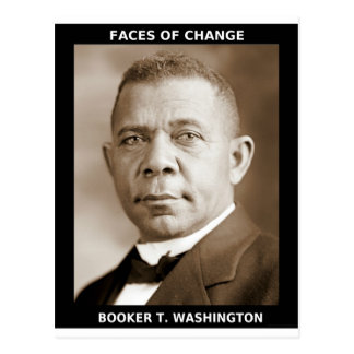 Booker T. Washington Postcard