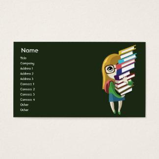 Bookgirl - Business Business Card