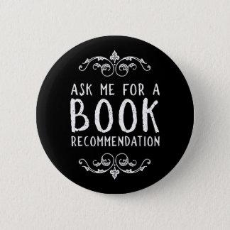Bookish 2 Inch Round Button