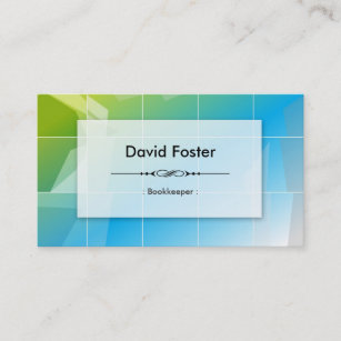 Bookkeeping clerk business cards profile cards zazzle ca bookkeeper modern elegant simple business card colourmoves