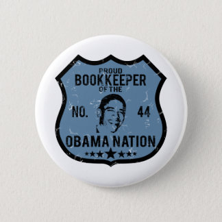 Bookkeeper Obama Nation 2 Inch Round Button
