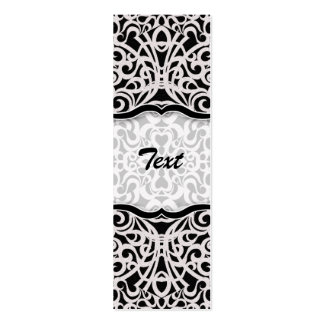 Bookmark Business Card Baroque Style Inspiration