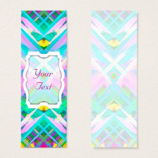 Bookmark Business Card Colorful digital art G473