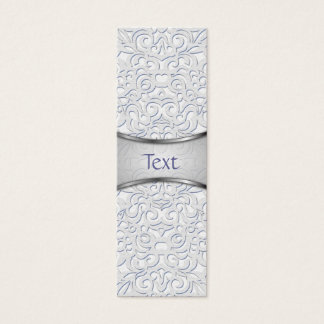 Bookmark Business Card Damask Style Inspiration