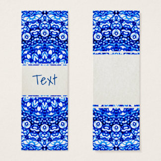 Bookmark Card Mandala Mehndi Style G403