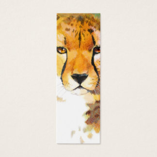 BOOKMARK - Cheetah Mini Business Card