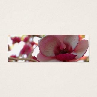bookmark or profile card - magnolia
