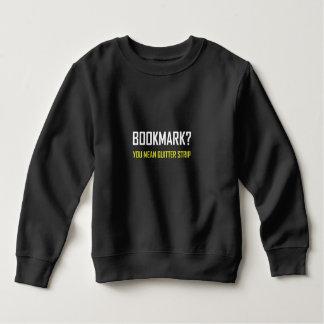 Bookmark Quitter Strip Sweatshirt