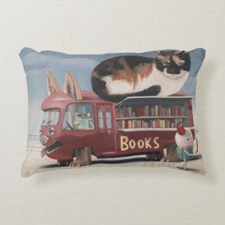 Bookmobile Decorative Pillow