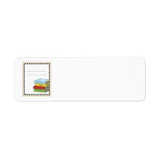 Bookplate Classroom Return Address Label