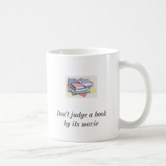 books2, books2, Don't judge a book by its movie... Coffee Mug