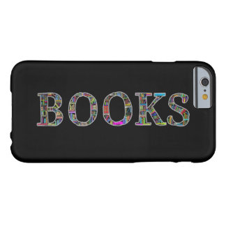 Books: a design for book lovers barely there iPhone 6 case