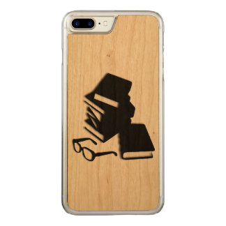 Books and Glasses Carved iPhone 8 Plus/7 Plus Case