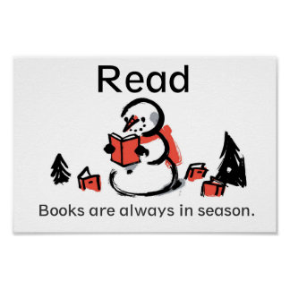 Books Are Always In Season Poster