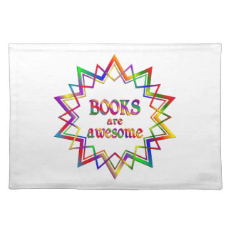 Books are Awesome Placemat