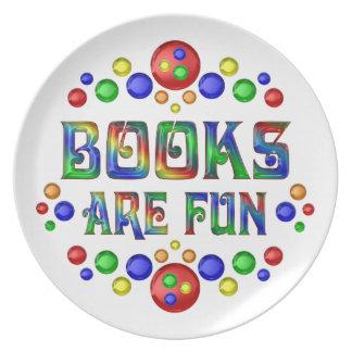 Books are Fun Plate