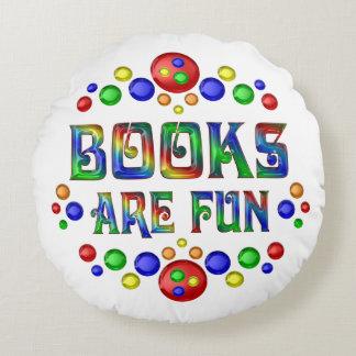 Books are Fun Round Pillow