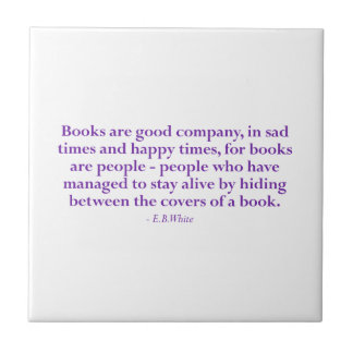 Books Are Good Company Tile