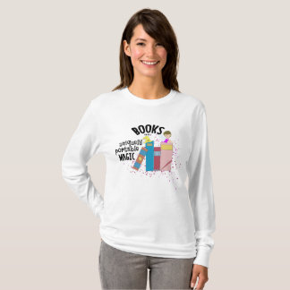 Books Are Magic Women's Long Sleeve Top