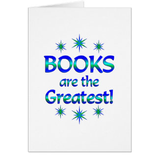 Books are the Greatest Card