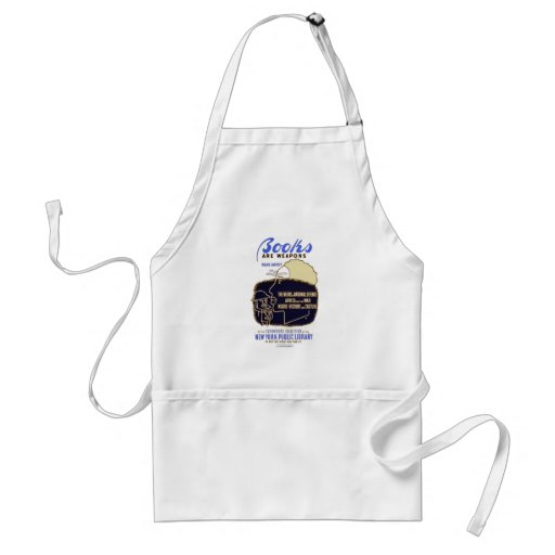 """Books Are Weapons"" Apron"