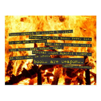 Books are Weapons Postcard