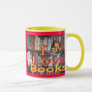 books are wonderful friends mug