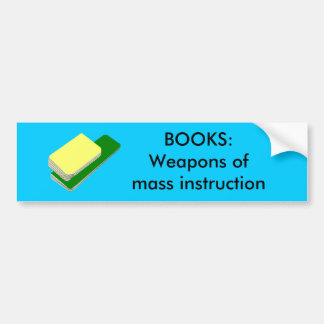 BOOKS - bumper stickers