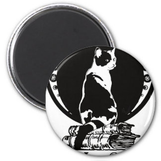 Books, cats, life is sweet Kopie_vectorized Magnet