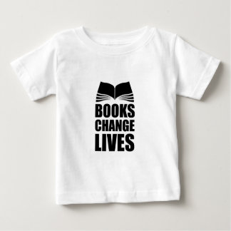 Books Change Lives Baby T-Shirt